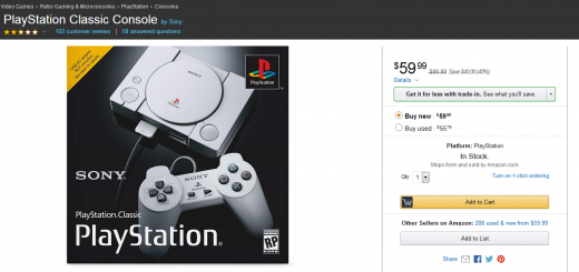 PlayStation Classic Already Discounted To $60!