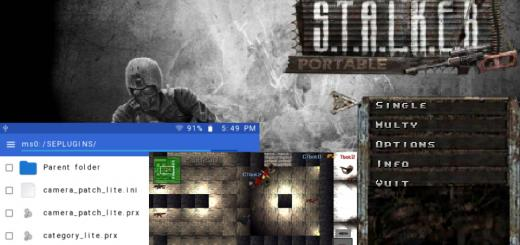 Recent(ish) PSP Releases: CMFileManager PSP 3.20, Legend Of The Sword And Fairy Port, S.T.A.L.K.E.R Portable and CSPSP 1.94