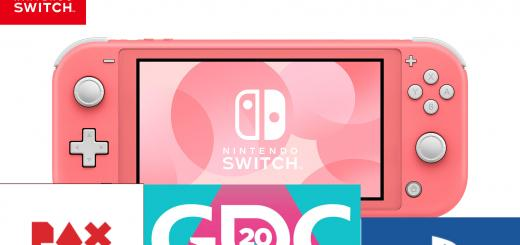 News: Pre-Orders for the new Coral Switch Lite open in North America despite initial reports of being Japan-exclusive & PlayStation won't be present at PAX East or GDC due to coronavirus concerns